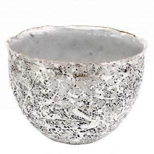 Collectable Porcelain Deep Sugar Bowl Marble