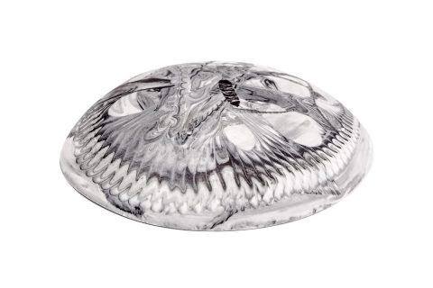 Porcelain Salt and Pepper Pinch Bowl Trinket Dish - Marble