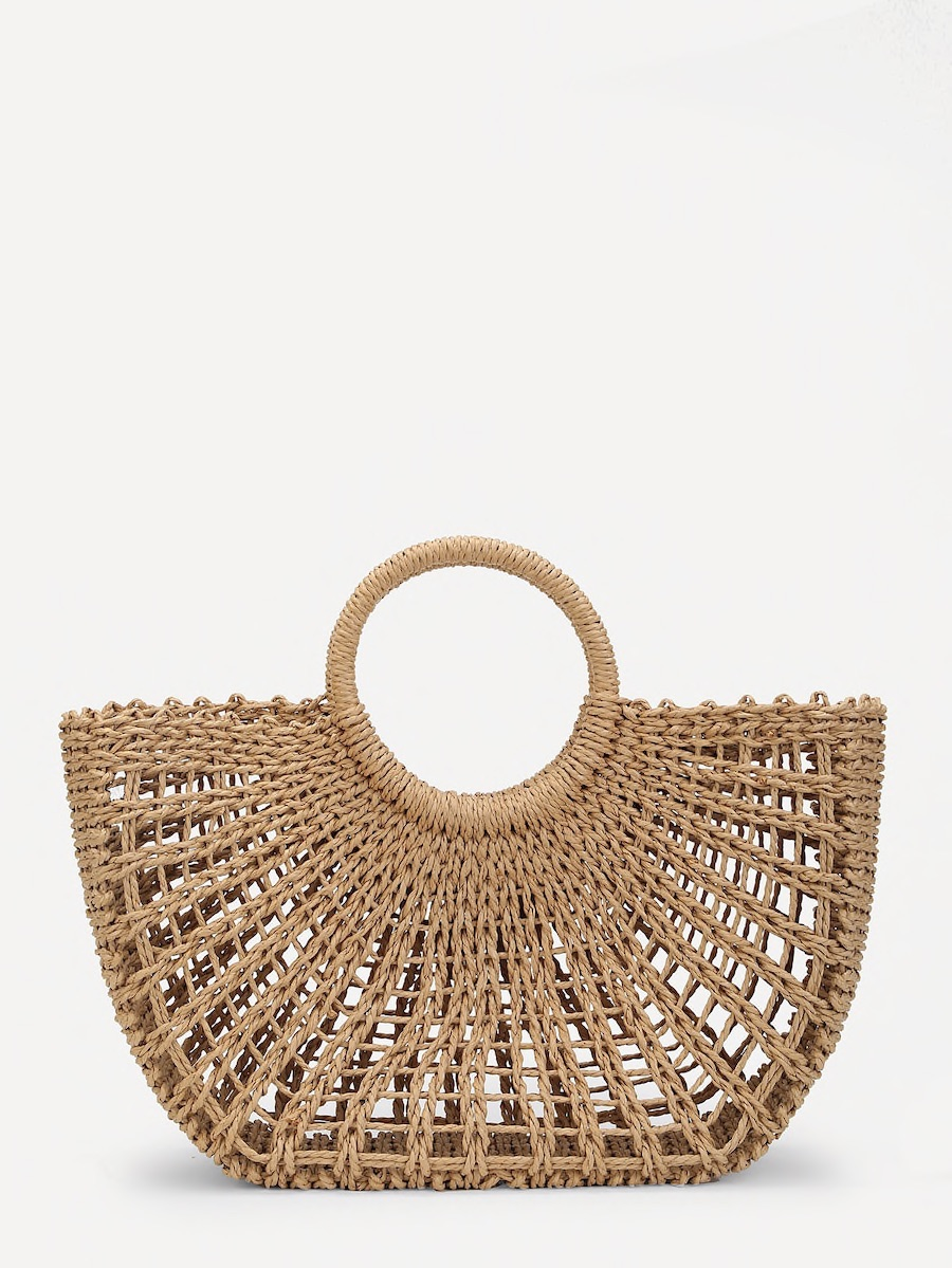 Spring 2018 Straw Tote (Natural)