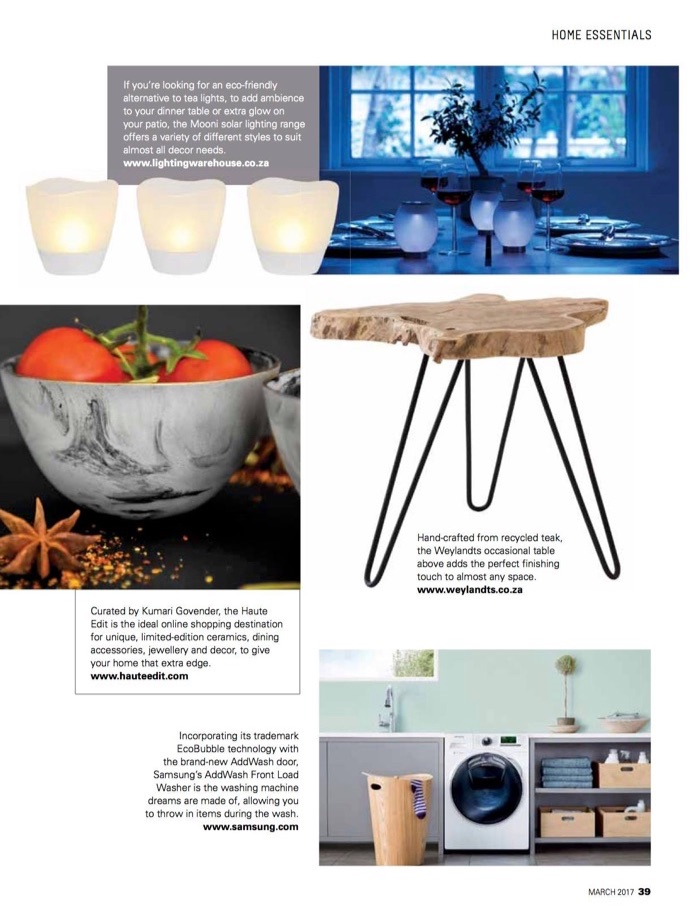 SA Home Owner Magazine March 2017