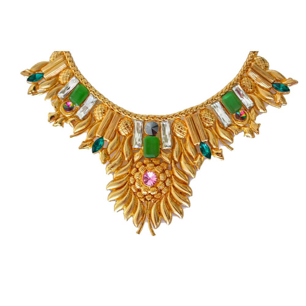 Valliyan 18Kt Gold Plated Sun Goddess Necklace