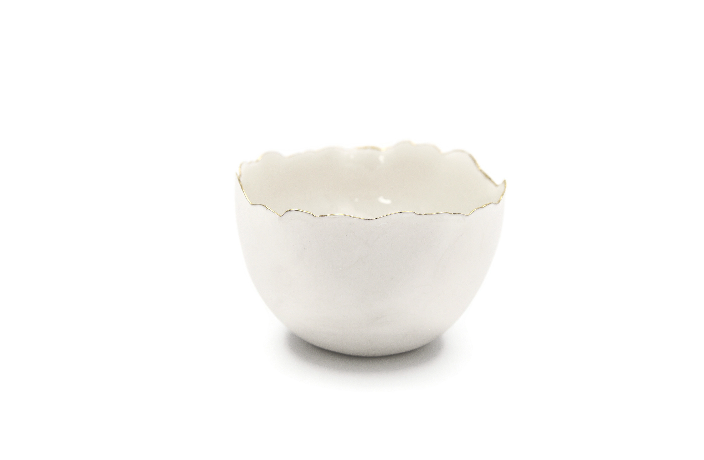 Collectible Porcelain White Bowls