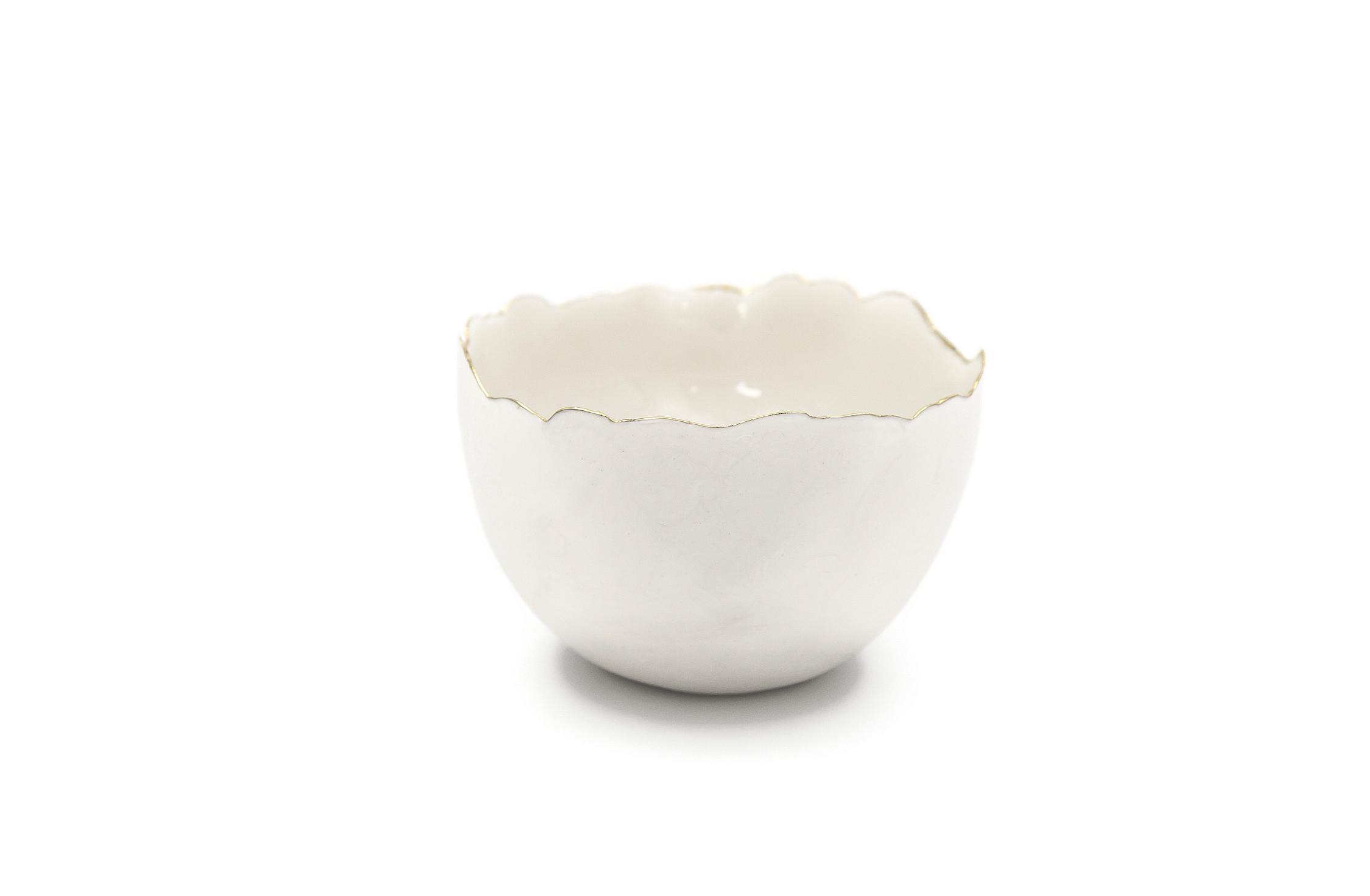 Collectible Porcelain White Bowls