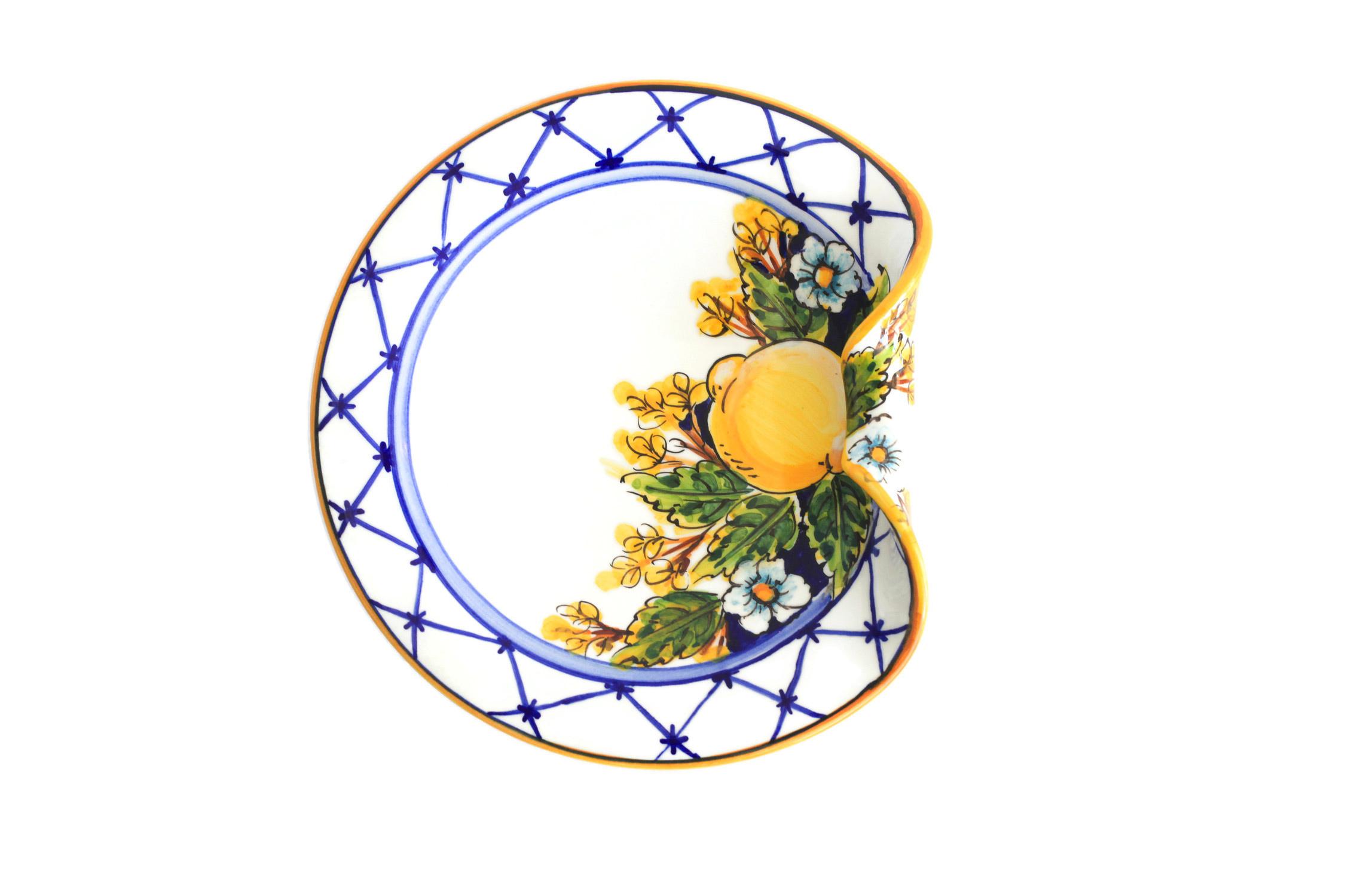 Limoncello Art Collection Aperitivo Plate