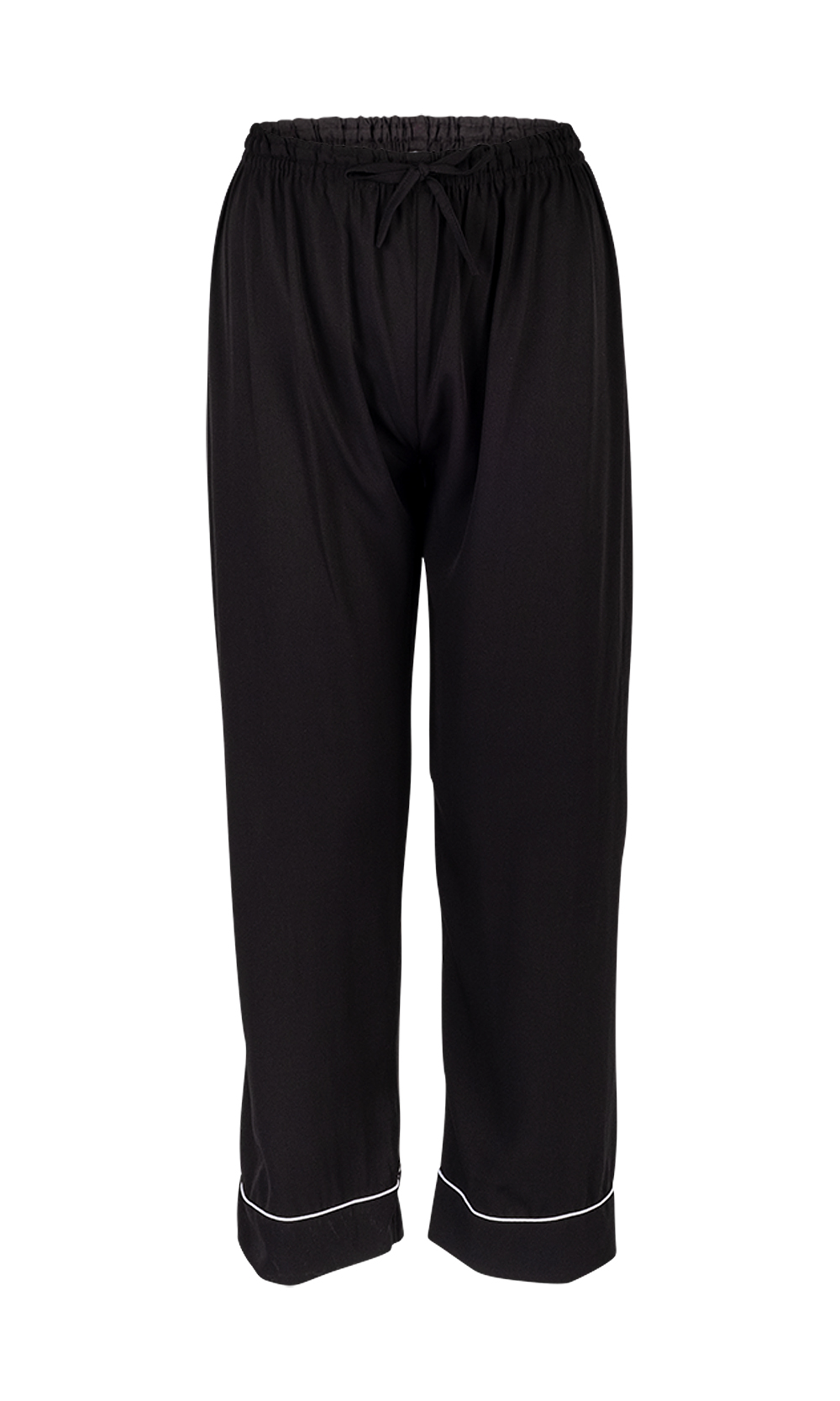 Black Luxurious Sleepwear & Pyjamas Set - Pant