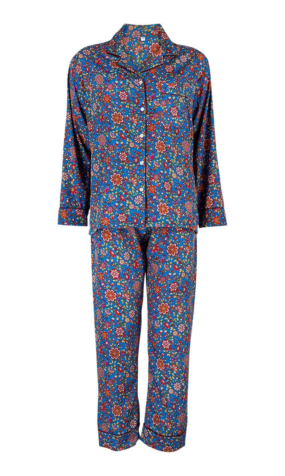 Blue Luxurious Sleepwear & Pyjamas Set - Set