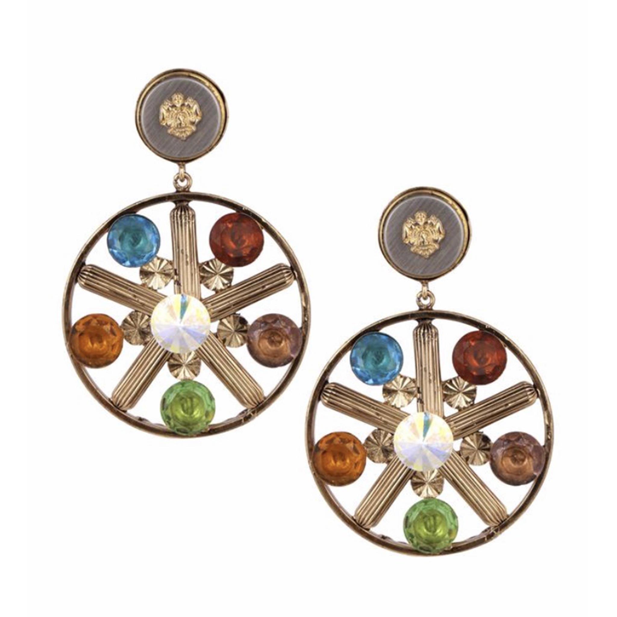 Valliyan Nitya Arora Copper Plated Brass Lucia Earrings