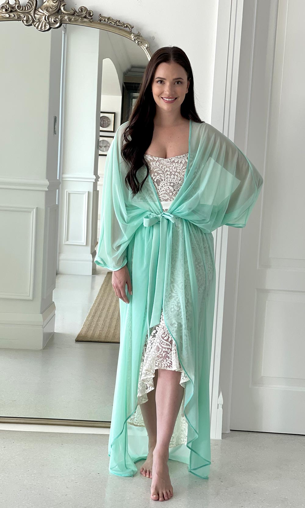 Goddess Maxi Kaftan Robe Beach Coverup
