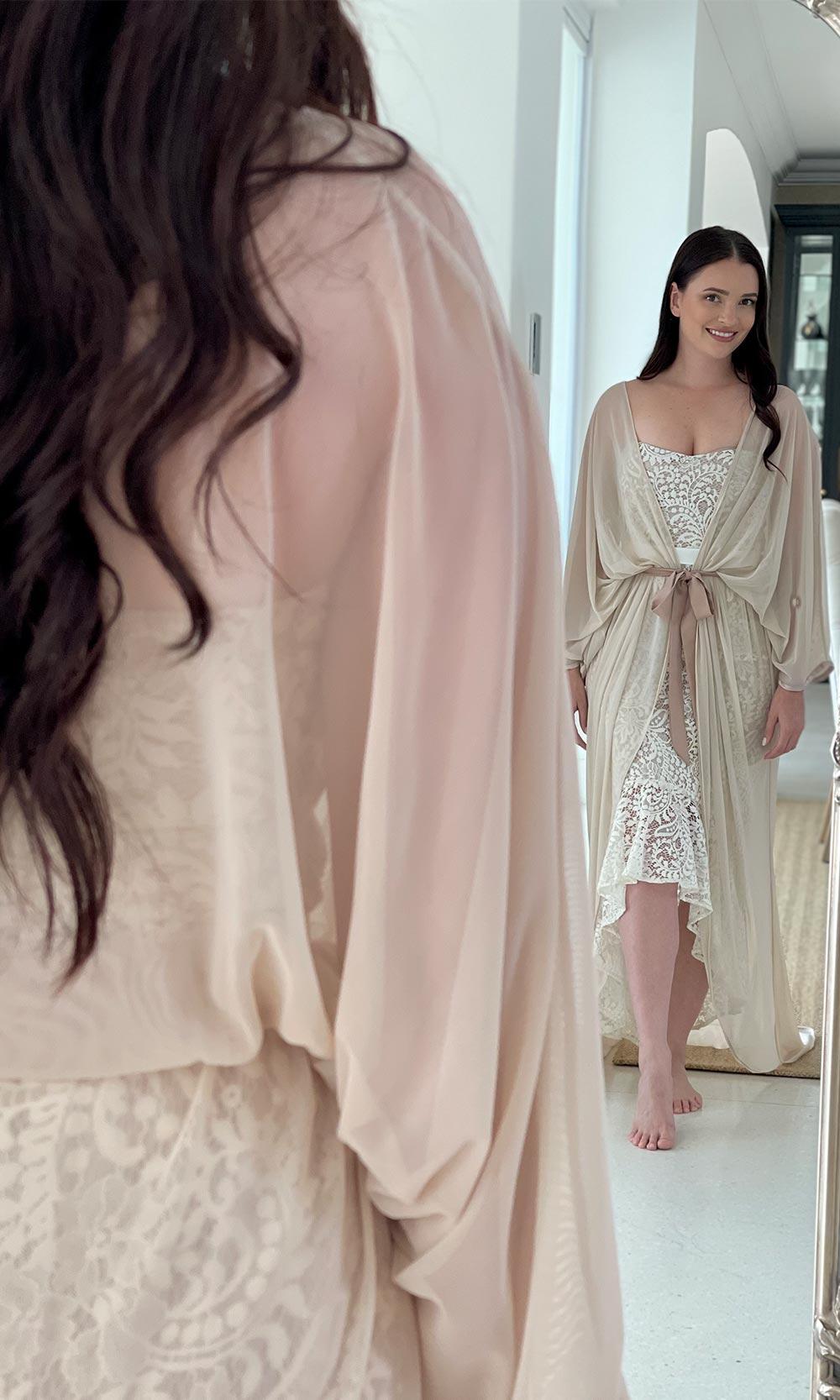 Kirti Goddess Robe Kaftan Kimono
