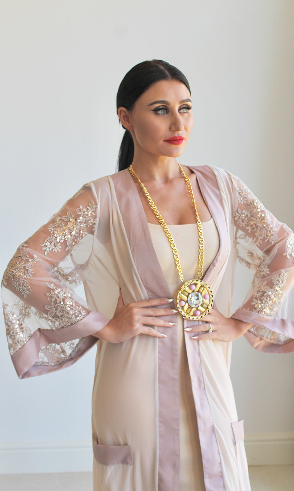 Luxurious Loungewear Kaftan Robes